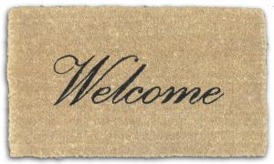 welcome-mat