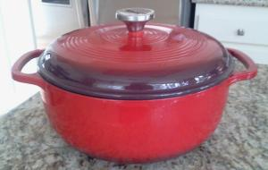 This is a real dutch oven, not the urban dictionary definition!