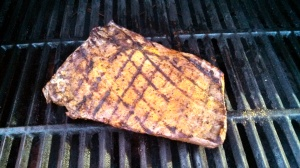 flank steak grilled
