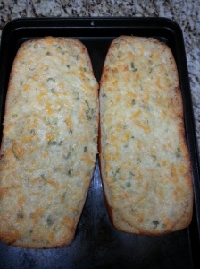 cheesy garlic bread 5