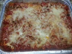 sausage lasagna 3