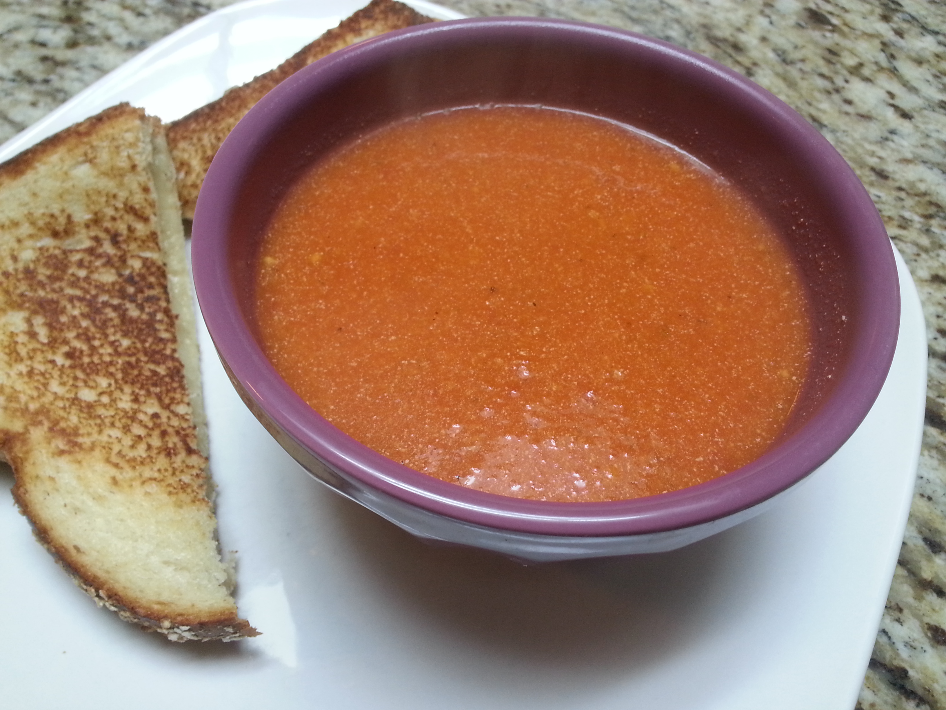 Simple Tomato Soup | JENuinely Homemade